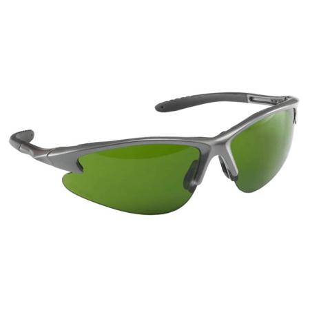 очки с зелеными линзами