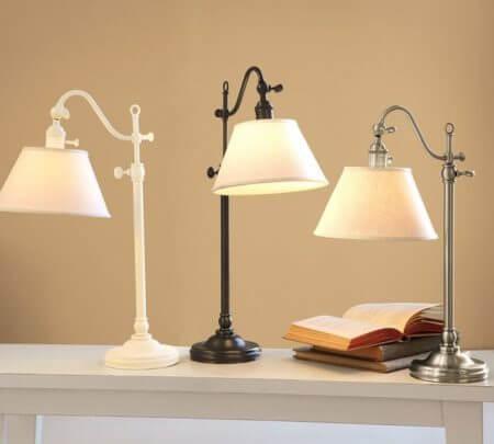 настольные лампы и светильники