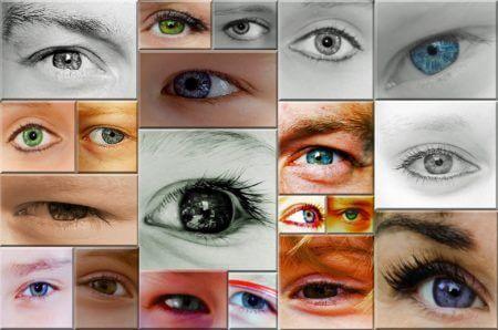 Глаза с признаками глаукомы