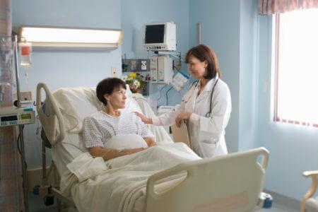больница врач больной палата