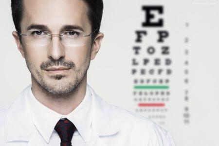 окулист врач таблица