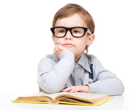 Мальчик в очках