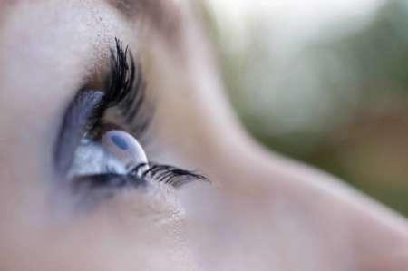 фотография глаза девушки