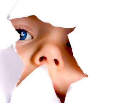 голубоглазый ребёнок