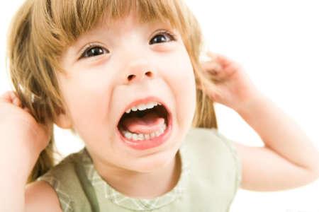 Ребёнок с открытым ртом