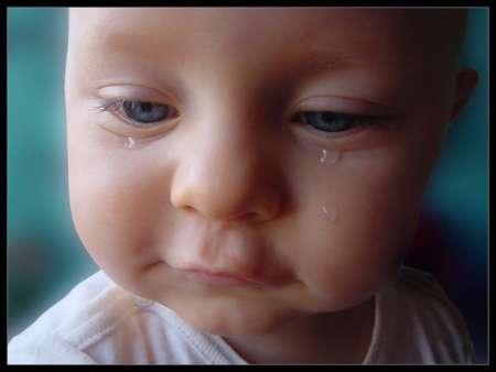 слезотечение у малыша