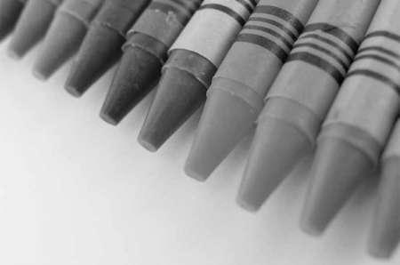черно-белая фото карандашей